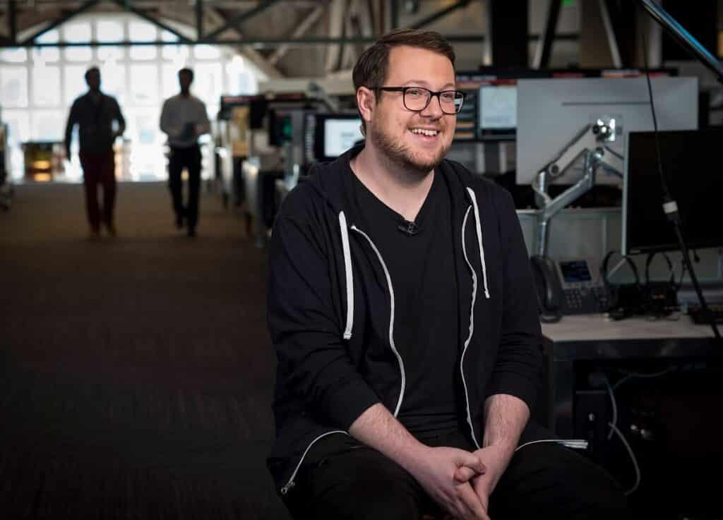 پالمر، یکی از دو بنیانگذار پروژه دوج کوین