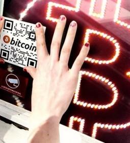 Bitcoin_sign_business_desk