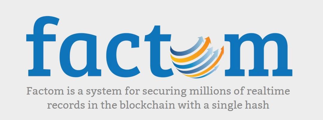 فکتوم (Factom) با استفاده از فن آوری بلاک چین که با بیت کوین معرفی شد، بهبود ثبت اسناد و مالکیت معنوی را هدف خود قرار داده است.