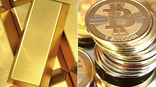 بیت کوین و طلا