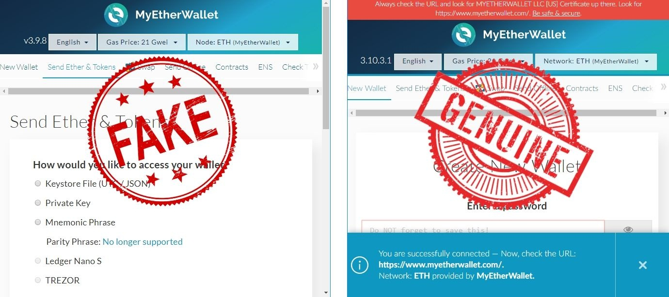MyEtherWallet محبوبترین کیف پول وب اتریوم