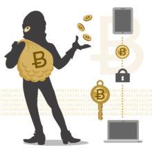 bigstock Bitcoin Hacker And Transaction 61840121 220x220 هک بیتکوین
