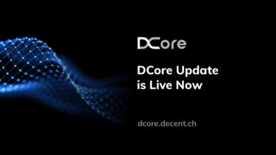 DCore یک راهکار بلاک چین معرفی شده از سوی دیسنت است که به کاربران امکان ایجاد راهکارهایی برای توزیع محتوای دیجیتالی و کسب درآمد از طریق آن را می دهد.