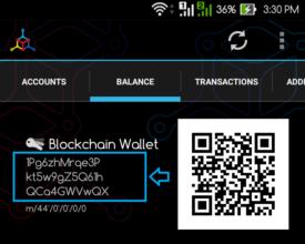 کیف پول Blockchain