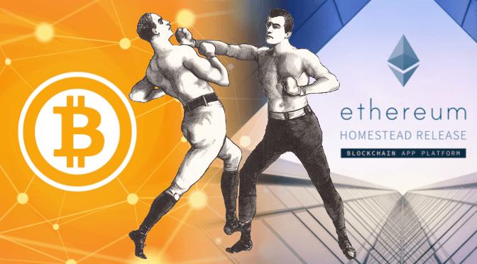 Bitcoin vs Ethereum 1 پویا علیخانی