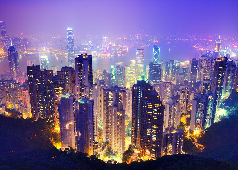 Hong Kong night coiniran حسین چنگایی