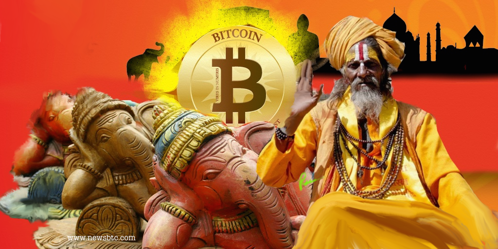 bitcoin in India حسین چنگایی