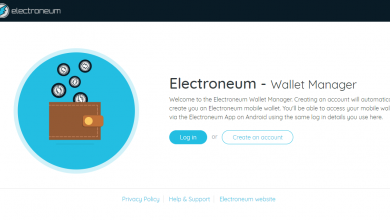آموزش گام به گام خرید رمزارز Electroneum و انتقال به انواع والت