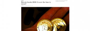 Bitcoin 100 350x120 timeline