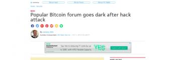 هک شدن BitcoinTalk.org