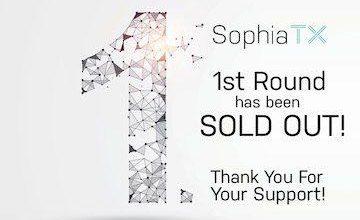 توکن SophiaTX در 24 ساعت اولیه به تعداد 30 میلیون فروش رفت!
