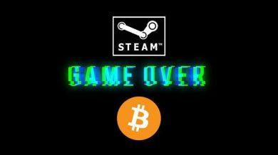 چرا بزرگترین فروشگاه بازی های رایانه ای (steam) دیگر بیتکوین نمی پذیرد؟