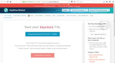 3 how to create myetherwallet account 390x215 نحوه ساخت والت کاغذی اتریوم با استفاده از MyEtherWallet