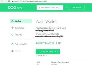 چطور یک کیف پول برای ارز رمزنگاری شده DECENT بسازیم؟