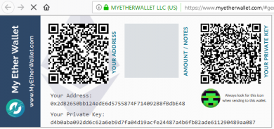 5 how to create myetherwallet account 390x184 نحوه ساخت والت کاغذی اتریوم با استفاده از MyEtherWallet
