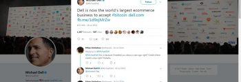 Dell از مشتریان خود، بیت کوین دریافت می کند
