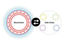 What is a sidechain (designation for a blockchain ledger)