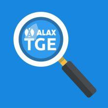 ALAX TGE : رویداد عرضه توکن های پروژه مبتنی بر بلاکچینِ الاکس