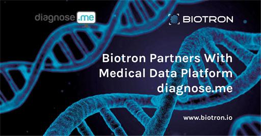 همکاری بیوترون (Biotron) و شرکت فعال در زمینه داده های پزشکی (Diagnose)