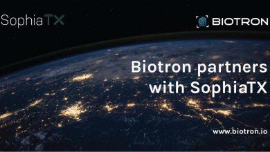 Biotron با پلتفرم بلاکچین صاحب نام SophiaTX رسما اعلام همکاری کرد