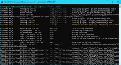 آموزش استخراج Decent (دریافت توکن های DCT) و مکانیسم نظارت بر محتوا در شبکه