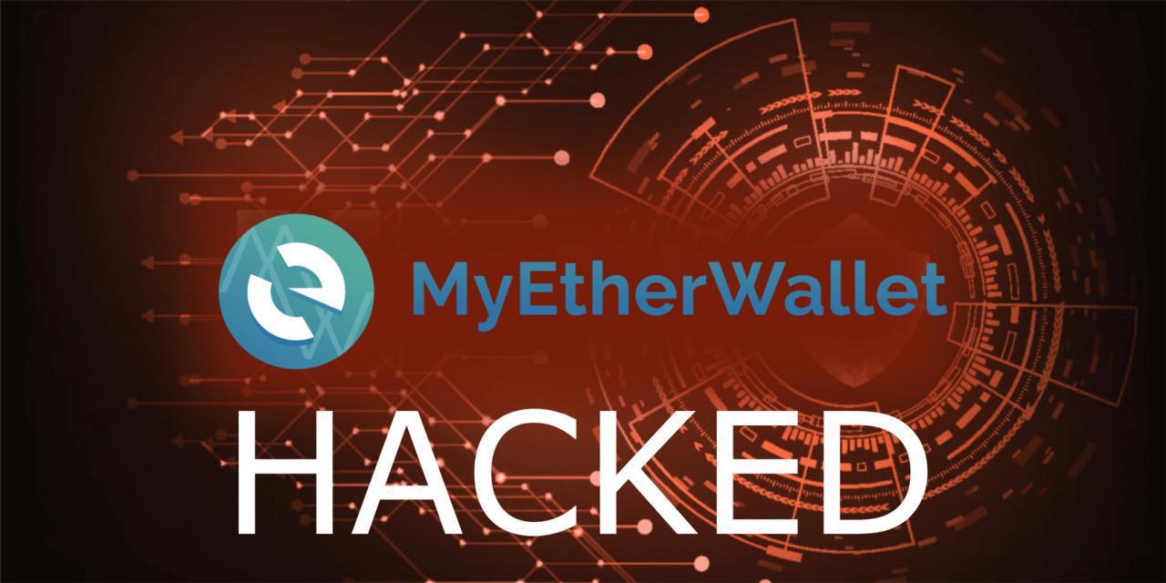 خبر فوری: حمله DNS دامن سایت والت اتریوم Myetherwallet را گرفت