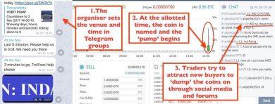pump and dump defend 390x148 چگونه از دارایی های خود در برابر پامپ و دامپ رمزارز ها دفاع کنیم؟
