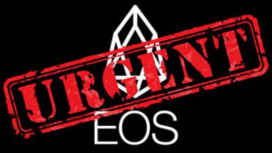 معاوضه توکن های EOS: توکن های ERC20 خود را قبل از freeze دائمی ثبت کنید