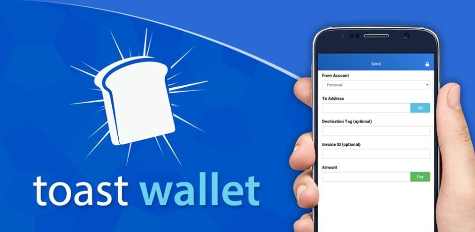 آموزش ساخت کیف پول موبایل برای ریپل (XRP) با اپلیکیشن Toast Wallet