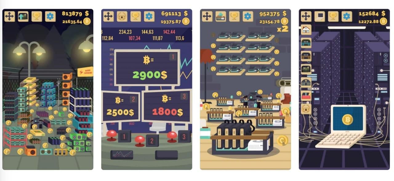 بازی Bitcoin Mining Simulator (شبیهساز استخراج بیت کوین)
