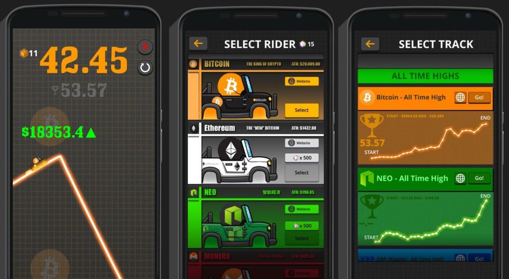 بازی Crypto Rider