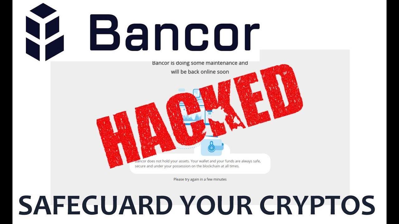 خبر فوری : هک اکسچنج Bancor و سرقت 12 میلیون دلار اتریوم (ETH)
