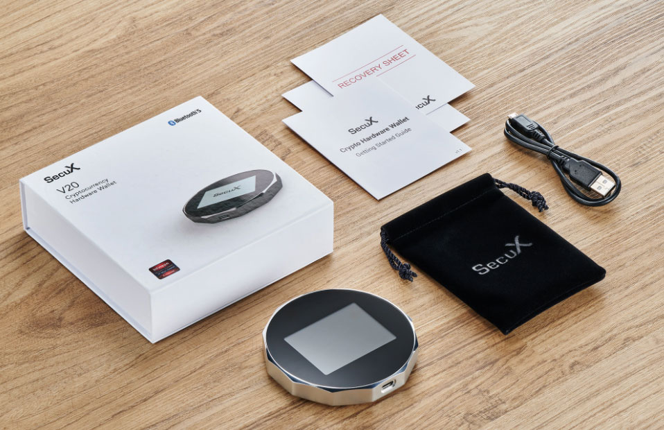 کیف پول سخت افزاری SecuX V20