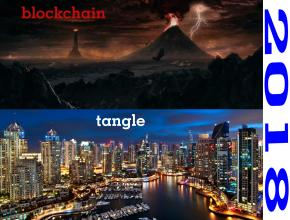تقابل بلاک چین و Tangle در عرصه فناوری پایگاه داده غیر متمرکز