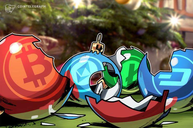 سقوط سهمگین دو رقمی بازار رمز ارز ها شیرینی کریسمس را تلخ کرد