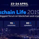 کوین ایران شریک رسانه ای رویداد Blockchain Life 2019 سنگاپور