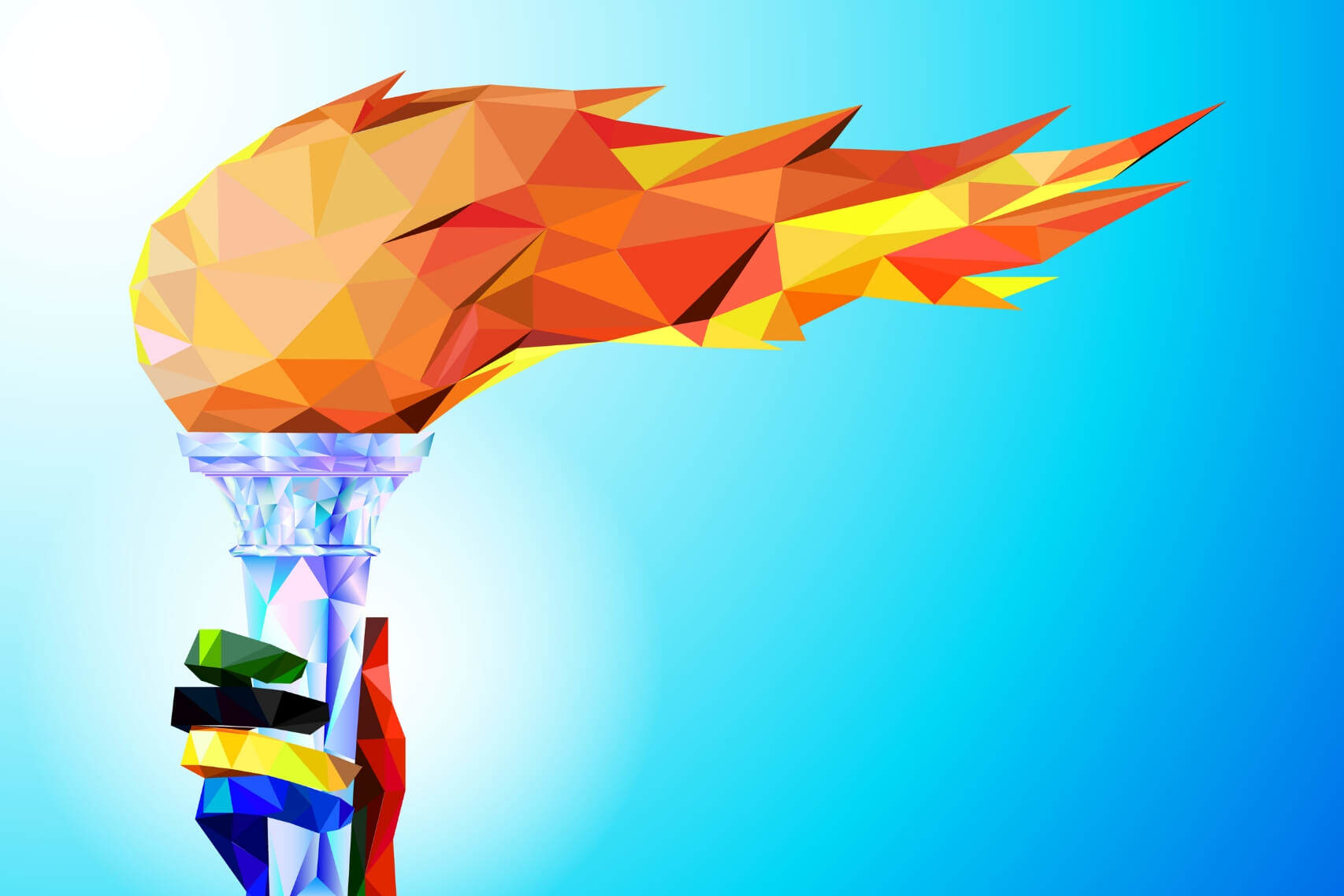 گفتگو با ضیا صدر در مورد ورود مشعل لایتنینگ (lightning torch) به ایران