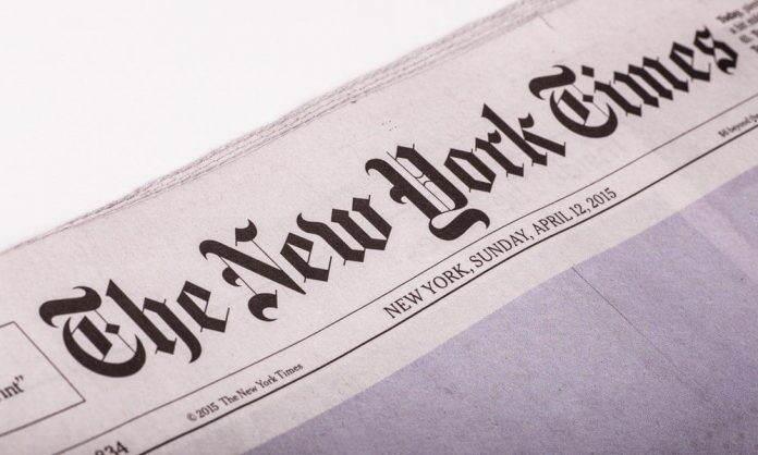 برنامه نیویورک تایمز برای تجربه انتشار خبر با استفاده از تکنولوژی بلاک چین