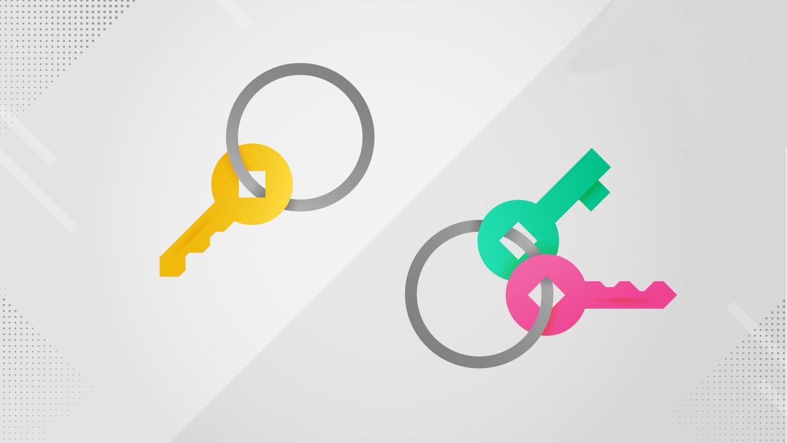کلید های رمزنگاری متقارن و نامتقارن و کاربرد آنها در رمز ارز ها