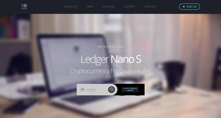 کیف پول استلار ledger nano s