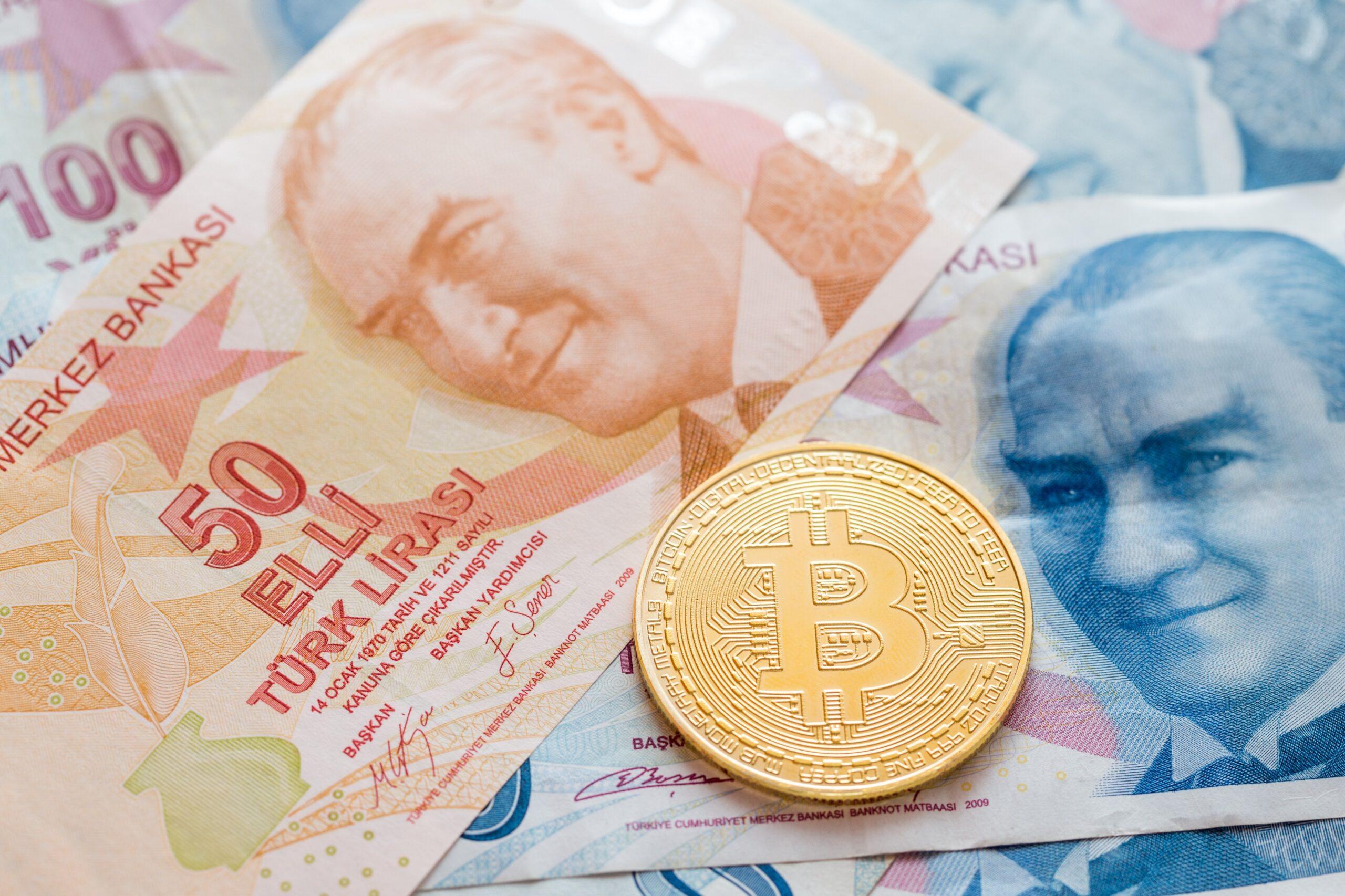 لیر ترکیه به ارزهای فیات Blockchain.com اضافه شد