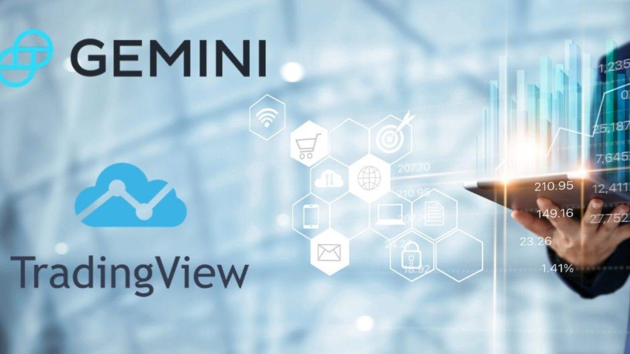 اعلام همکاری پلتفرم TradingView با صرافی Gemini