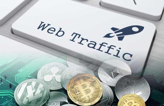کاهش 14 درصدی در ترافیک وب صرافیهای رمزارز در ماه ژوئن