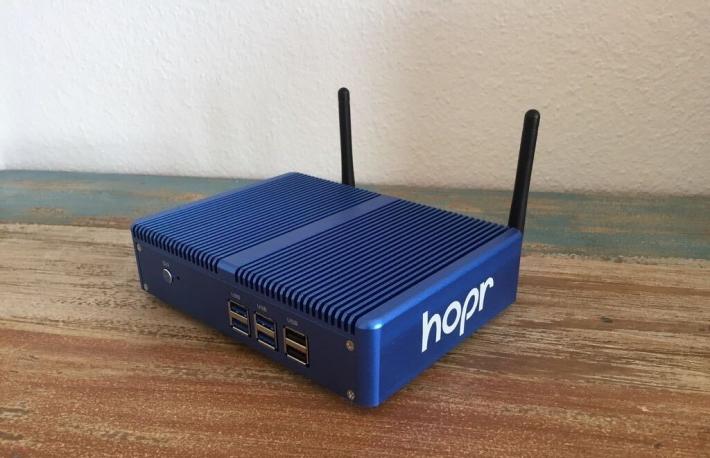 عرضه گره سختافزاری شبکه مخلوط اتریوم توسط شرکت حریم خصوصی بلاکچین HOPR