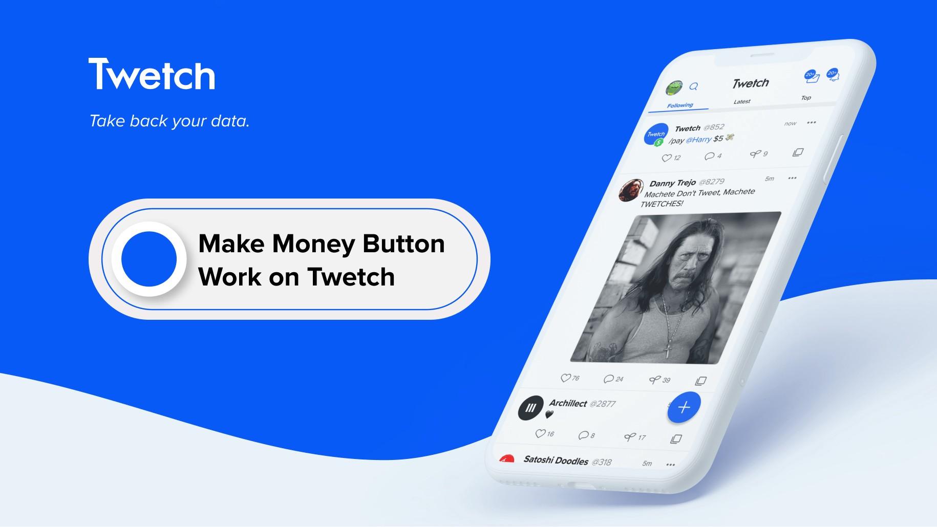 معرفی سرویس Twetch + طریقه استفاده از کیف پول Moneybutton