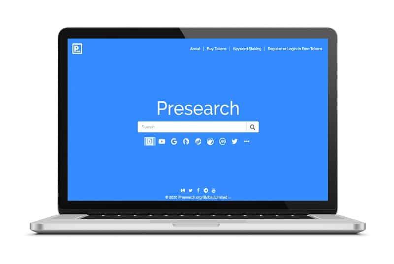 پروژه Presearch ، رقیب شرکت گوگل، موتور جستجوی غیرمتمرکز خود را راهاندازی میکند