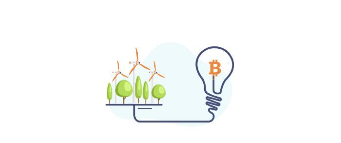 میزان مصرف انرژی بیت کوین