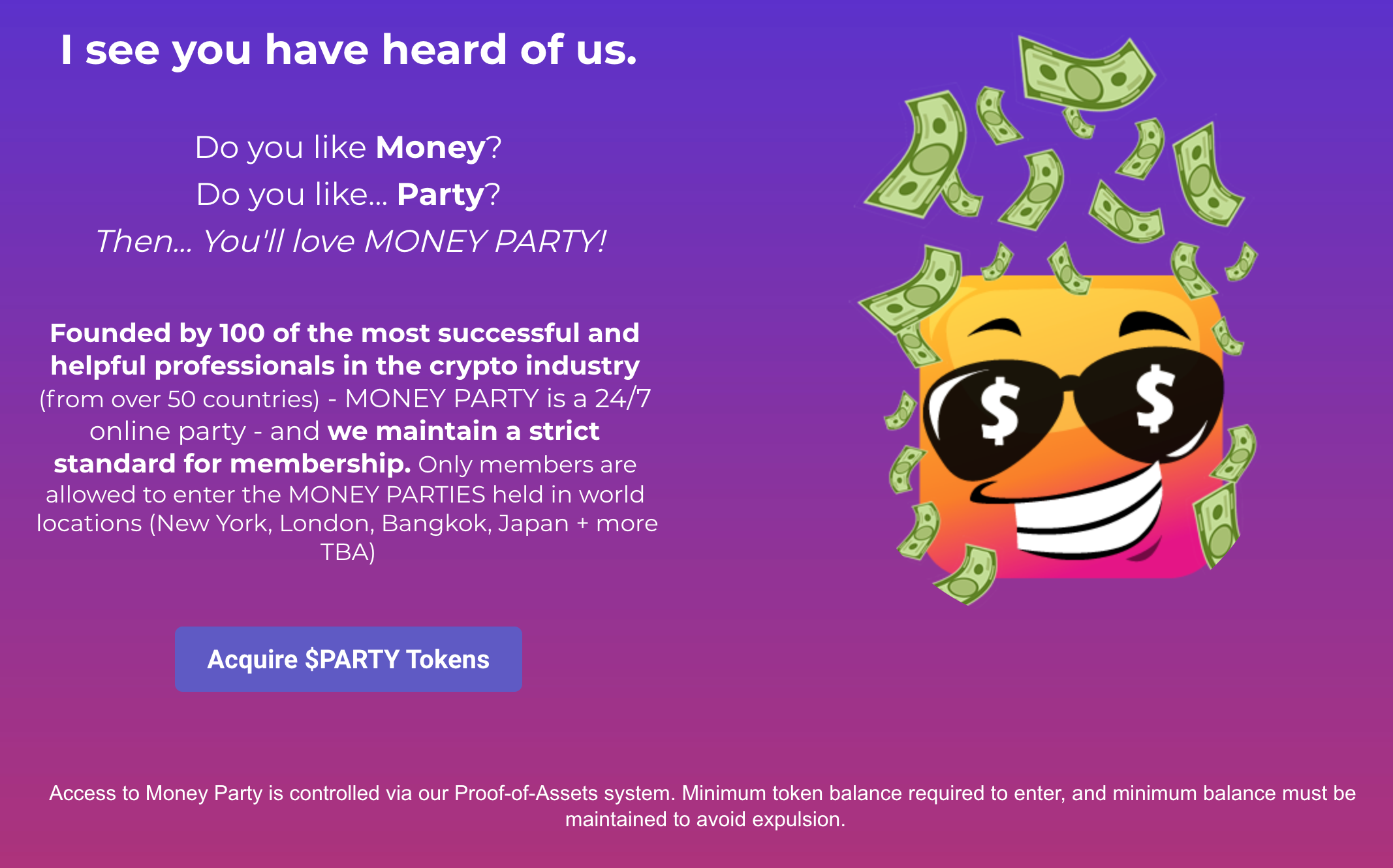 توکن PARTY$
