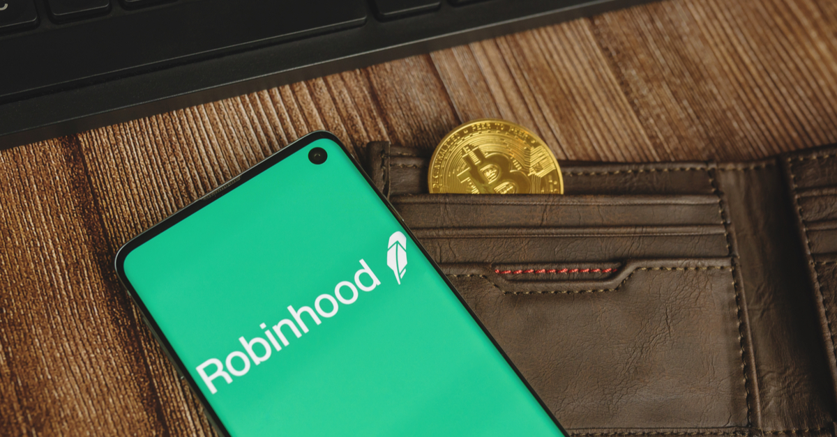 ارائهی خدمات وامدهی و استیکینگ رمز ارز از سوی Robinhood